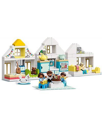 Конструктор Lego Duplo Town - Модулна къща за игри (10929) - 4
