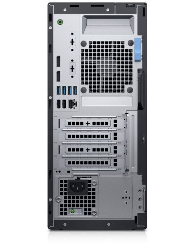 Настолен компютър Dell Optiplex - 5070 MT, черен - 4