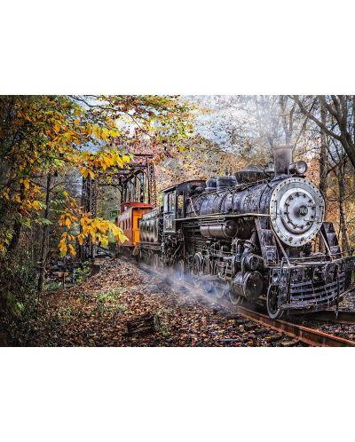 Пъзел Schmidt от 1000 части - Влакът в гората - 2
