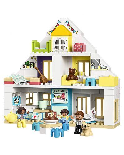 Конструктор Lego Duplo Town - Модулна къща за игри (10929) - 3