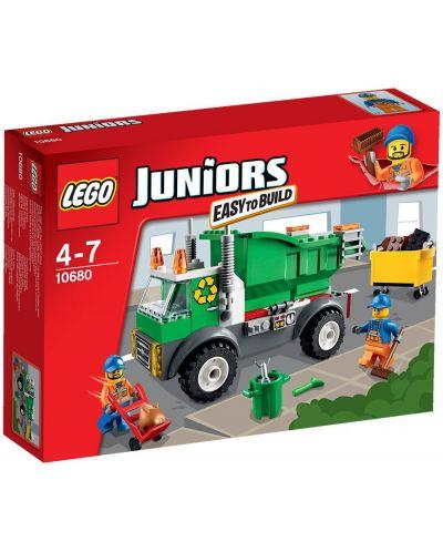Lego Juniors: Камион за смет (10680) - 1