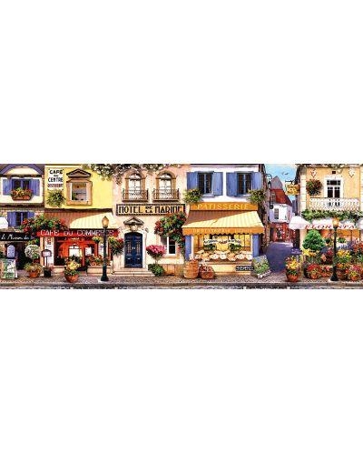 Панорамен пъзел Schmidt от 1000 части - Разходка в Париж - 2