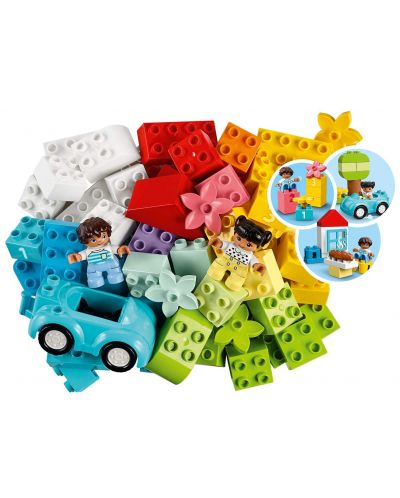 Конструктор Lego Duplo - Кутия с тухлички (10913) - 3