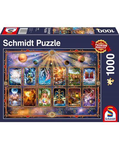 Пъзел Schmidt от 1000 части - Зодиакални знаци - 1