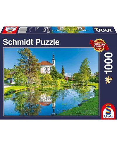 Пъзел Schmidt от 1000 части - Брайтбрун, Кимгау, Бавария - 1