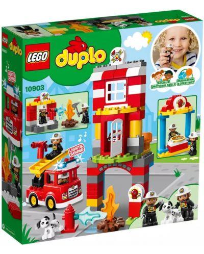 Конструктор Lego Duplo - Fire Station (10903) - 5