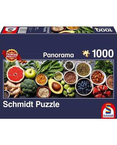 Панорамен пъзел Schmidt от 1000 части - На кухненската маса - 1