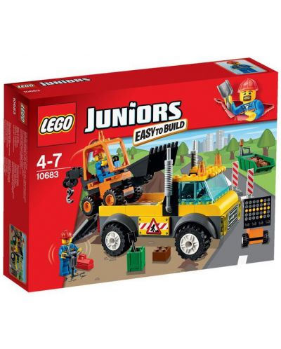 Lego Juniors: Камион за ремонт на пътища (10683) - 1