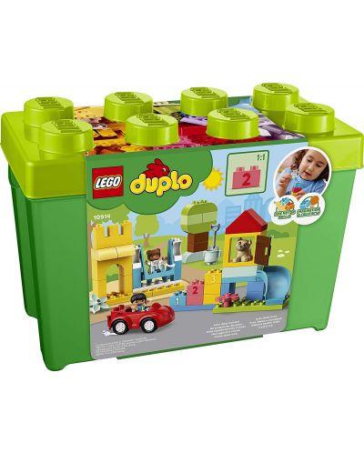 Конструктор Lego Duplo - Луксозна кутия с тухлички (10914) - 1