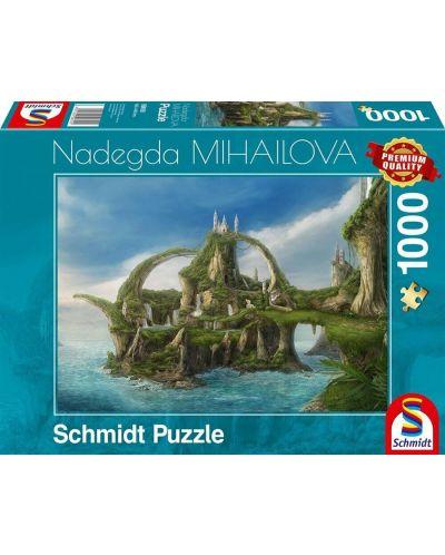 Пъзел Schmidt от 1000 части - Островът на водопадите, Надежда Михайлова - 1
