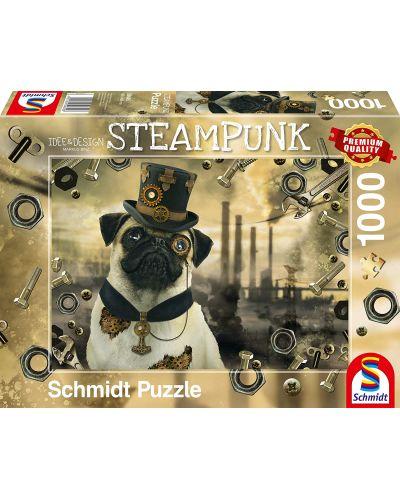 Пъзел Schmidt от 1000 части - Стиймпънк куче, Маркъс Бинц - 1