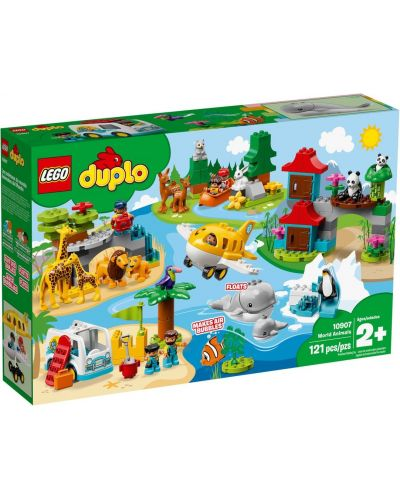 Конструктор Lego Duplo - World Animals (10907) - 1