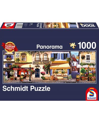 Панорамен пъзел Schmidt от 1000 части - Разходка в Париж - 1