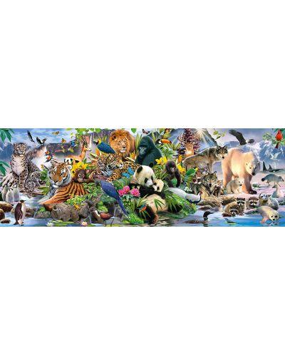 Панорамен пъзел Schmidt от 1000 части - Животинско царство - 2