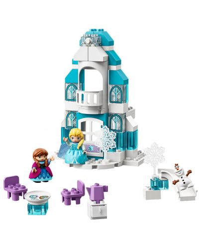 Конструктор Lego Duplo - Леденият замък на Елза (10899) - 2