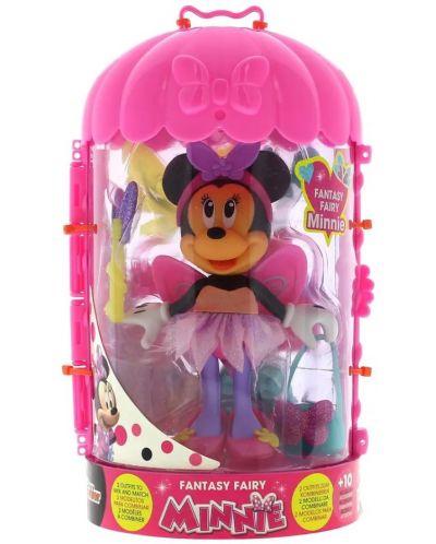 Кукла IMC Toys Disney - Мини Маус, фея, 15 cm - 1