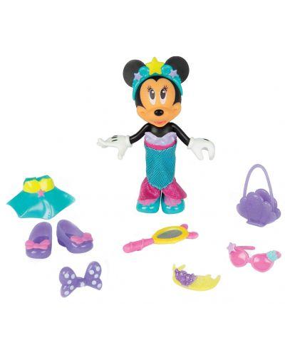 Кукла IMC Toys Disney - Мини Маус, русалка, 15 cm - 3