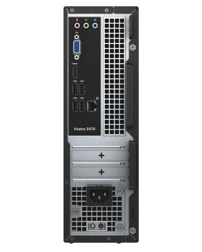 Настолен компютър Dell Vostro - 3470 SFF, черен - 4