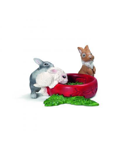 Фигурки Schleich от серията Животът във фермата: Зайчета, малки - 1
