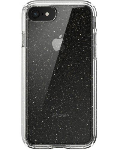 Калъф speck -  iPhone SE, 8,7, Gold Gliter, прозрачен - 1