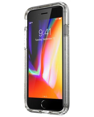 Калъф speck -  iPhone SE, 8,7, Gold Gliter, прозрачен - 4