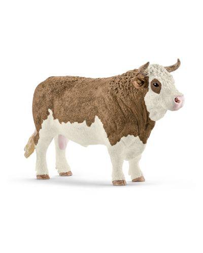 Фигурка Schleich - Симентал бик - 1