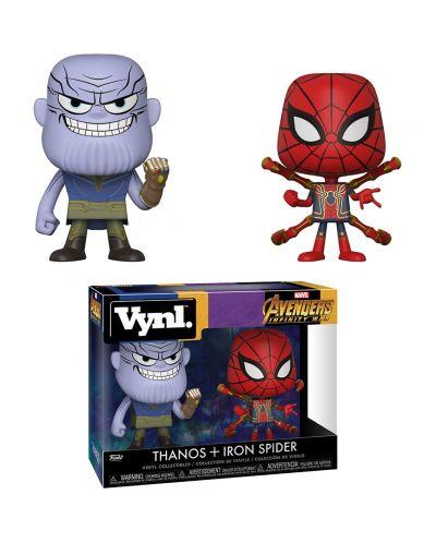 Фигури Funko Pop!: Marvel - Avengers: Infinity War - Thanos & Iron Spider (2 pack) - 2