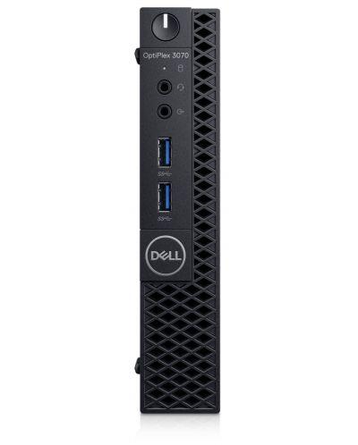 Настолен компютър Dell OptiPlex - 3070 MFF, черен - 1