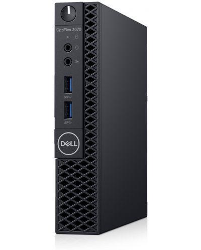 Настолен компютър Dell OptiPlex - 3070 MFF, черен - 3