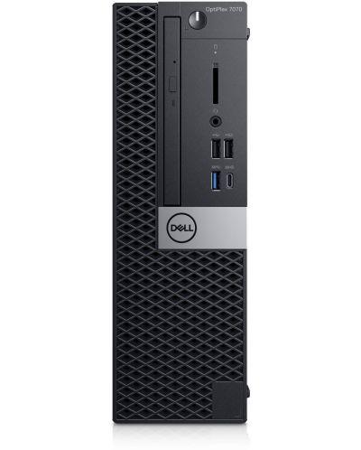 Настолен компютър Dell OptiPlex - 7070 SFF, черен - 1
