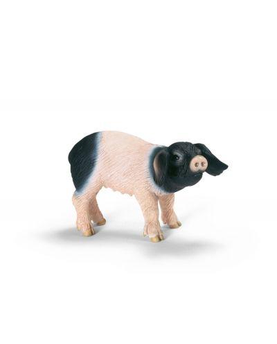 Фигурки Schleich от серията Животът във фермата: Швабско прасенце - ядящо - 1