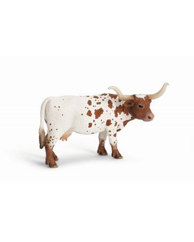 Фигурки Schleich от серията Животът във фермата: Тексаска дългорога крава - 1