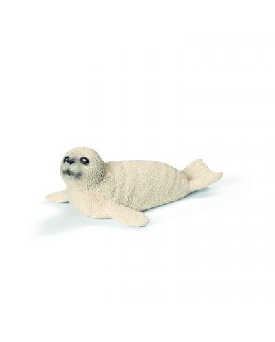 Фигурка Schleich от серията Дивия живот - Арктика и Антарктика: Тюлен, бебе - 1