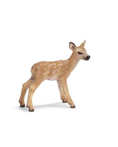 Фигурка Schleich от серията Дивия живот - Животните в Европа: Благородно еленче - 1