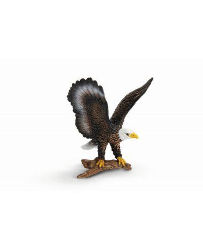 Фигурка Schleich от серията Дивия живот - Америка: Белоглав морски орел - 1