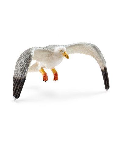 Фигурка Schleich от серията Дивия живот - Животните в Европа: Чайка - 1