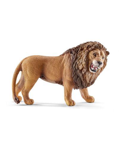Фигурка Schleich от серията Дивия живот - Африка: Лъв - ревящ - 1
