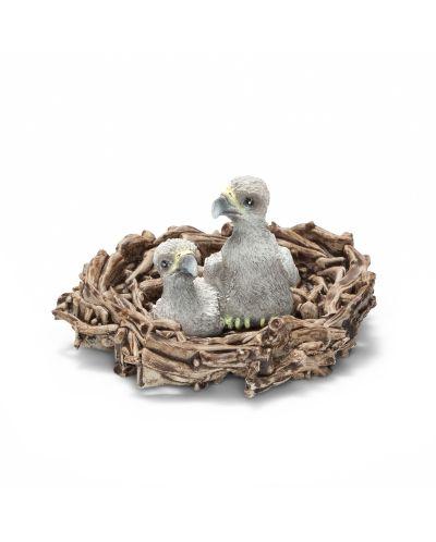 Фигурка Schleich от серията Дивия живот - Америка: Орлета в гнездо - 1