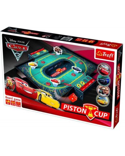 Детска игра Trefl Cars 3 - Piston Cup - 1