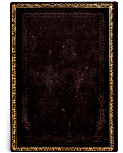 Тефтер Paperblanks - Black Maroccan, с ластик - 2