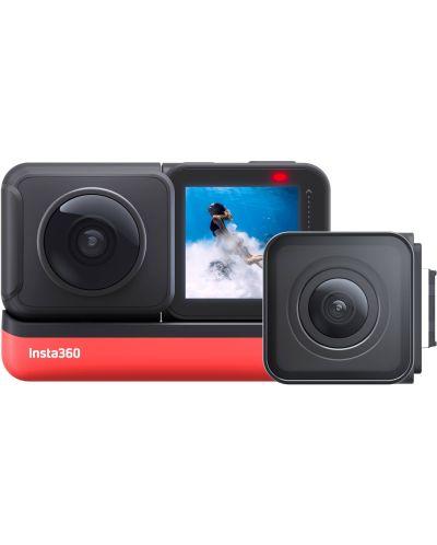 Екшън камера INSTA360 - One R Twin, черен - 1