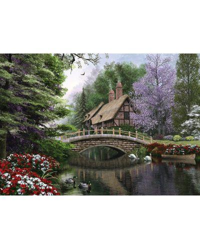 Пъзел Art Puzzle от 1500 части - Каменният мост, Доминик Дейвисън - 2