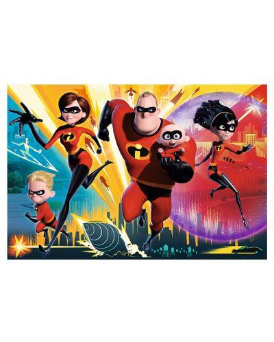 Пъзел Trefl от 100 части - Супергеройско семейство, Incredibles 2 - 1