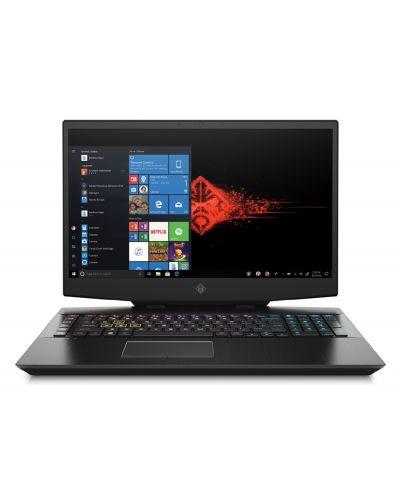 Гейминг лаптоп HP Omen - 17-cb0004nu, черен - 2