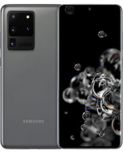 "Смартфон Samsung Galaxy S20 Ultra - 6.9"", 128GB, сив - 5"