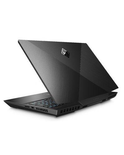 Гейминг лаптоп HP Omen - 17-cb0004nu, черен - 6