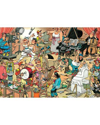 Пъзел Jumbo от 150 части - Залата на артистите, Ян ван Хаастерен - 2