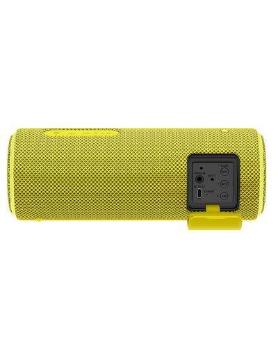Мини колонка Sony SRS-XB21 - жълта - 3