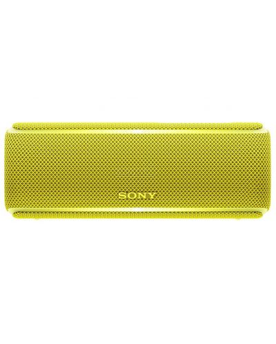 Мини колонка Sony SRS-XB21 - жълта - 1