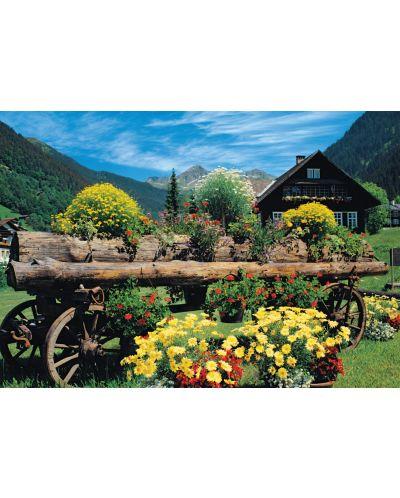 Пъзел Jumbo от 1000 части - Алпийски цветя - 2